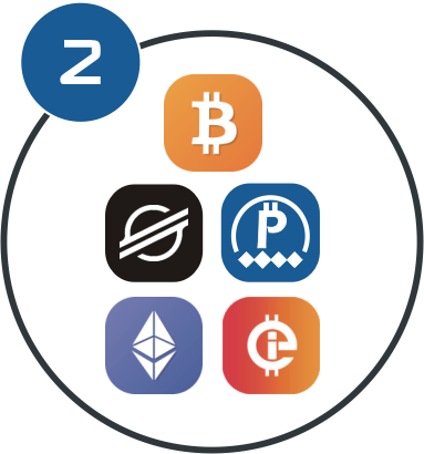 Choose which Crypto-Coins to buy